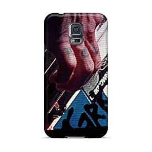 Great Hard Phone Cases For Samsung Galaxy S5 (JEZ3869jjCh) Support Personal Customs Beautiful Red Hot Chili Peppers Pattern