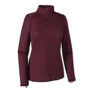 Patagonia Capilene Thermal Weight Zip Neck - Women's Deep Mahogany/Oxblood Red X-Dye Large