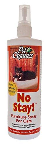 Pet Organics No Stay! Furniture Spray for Cats - 16 fl. oz Bottle by Pet Organics