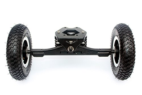 Electric Skateboard Truck Off Road Skateboard Belt Drive Truck 4 Wheel Longboard Mountains Skateboard 11 Inch Truck 8 Inch Wheel (normal truck)