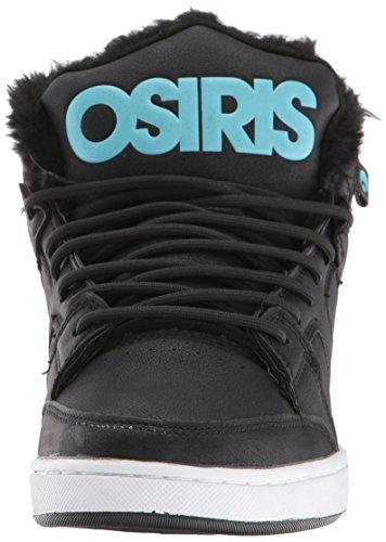 Osiris Konvoj Midten Shr Skate Sko Sort / Lyseblå 81njT