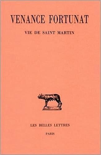 Télécharger en ligne Oeuvres, tome 4, tome Vie de Saint Martin epub, pdf