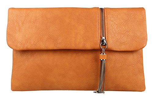 Girly Handbags - Cartera de mano mujer canela