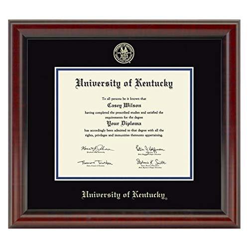 - M. LA HART University of Kentucky Diploma Frame, The Fidelitas