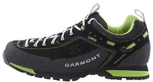 Garmont Dragontail LT GTX Shoes Men Black/Green Größe 46 2016 Schuhe