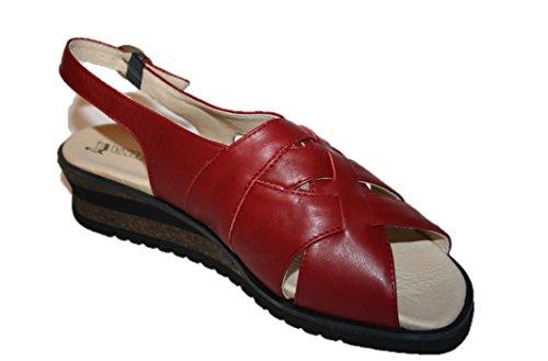 Romika , Sandales pour femme Rouge Rouge 37
