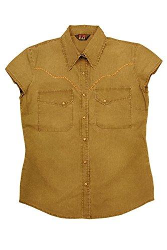 Kakadu Traders Carson Shirt for women Mustard