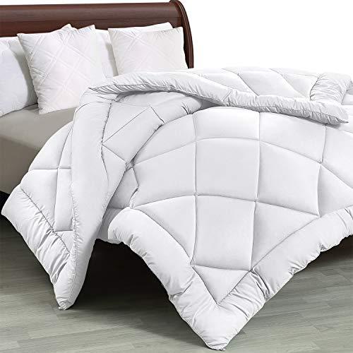 Utopia Bedding - All Season Quilted Duvet Insert - Goose Down Alternative Comforter - King/Cal King - White ()
