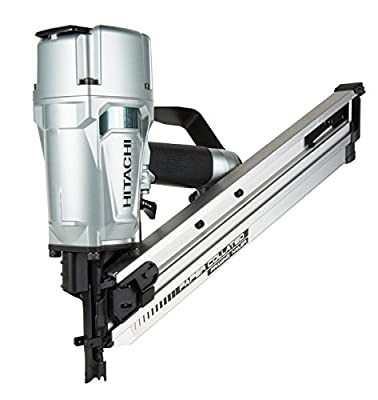 "Hitachi NR83AA5 Paper Collated Framing Nailer with Rafter Hook, 3-1/4"" from Hitachi"