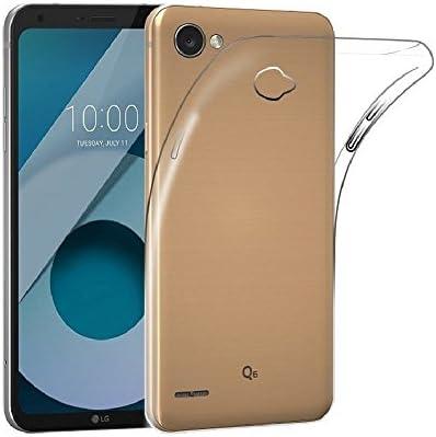 Mb Accesorios Funda Carcasa Gel Transparente para LG Q6 / Q6 Alpha ...
