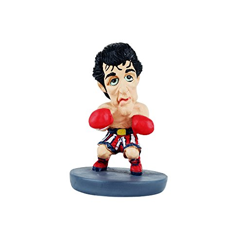 Wowheads Rocky Bolboa Sylvestor Stallone Hollywood Boxer Legend Movie Caricature  Non Bobblehead  Figurine  Resin Made