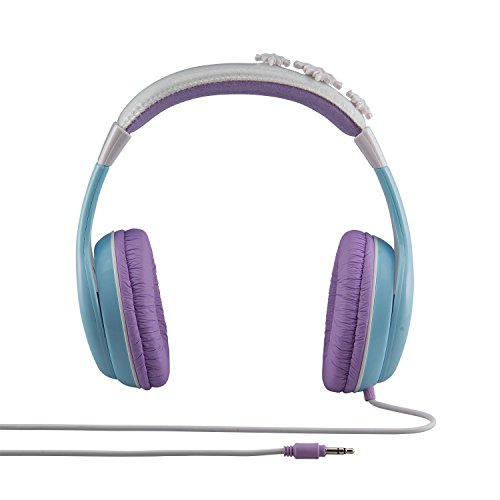 41Fcuey7nyL - Frozen Headphones for Kids with Built in Volume Limiting Feature for Kid Friendly Safe Listening