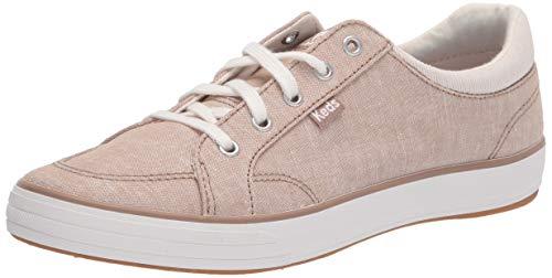 Keds Women's Center II Sneaker, Walnut Chambray, 6 Medium
