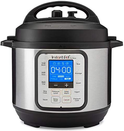 Instant Pot Duo Nova Pressure Cooker 7 in 1, 3 Qt, Best for Beginners