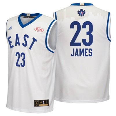 buy popular db9ef a22cc NBA All-Star 2016 East Replica Jersey - Lebron James - Mens ...