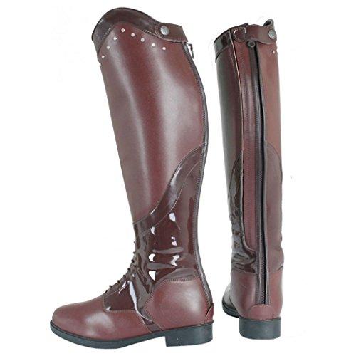 Boots Holder Calf amp; Elastic Up Stretchable Zip Adults Black Riding Side Arlene Horka qxaZzpPSP