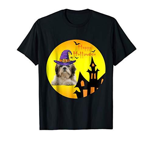 Happy Halloweenie T-Shirt Dachshund Shih Tzu Halloween 2018