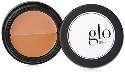 Glo Skin Beauty Under Eye Concealer Duo in Natural | Correct and Conceal Dark Circles, Wrinkles, and Redness | 4 Shades