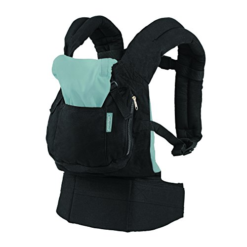 (Infantino Roam Ergonomic Carrier, Black, Babies 12-45 Lbs)