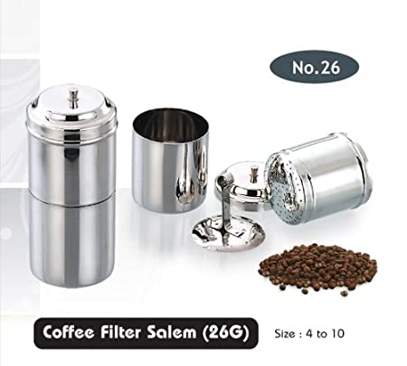 ekitchen Stainless Steel Coffee Filter No:4 (100 ml)