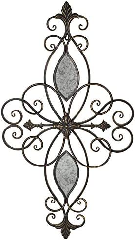 Edeco Scrolled Metal Wall Decor