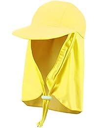 8f9df8f91ee Kids Sun Hat Flap Cap Boys Girls Visor Cap Sun Protection Beach Hat Fishing  Cap