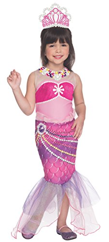 Barbie Costume For Kids (Rubies Barbie and The Pearl Princess Lumina Costume, Child Medium)