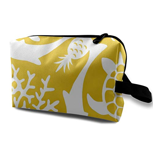 - Cosmetic bag for purse,Sunny Hawaii_3339,Oxford cloth Colourful Bag Mini Travel