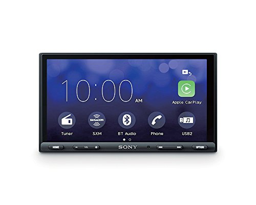 Sony XAV-AX100 6.4' Car Play/Android Auto Media Receiver with Bluetooth