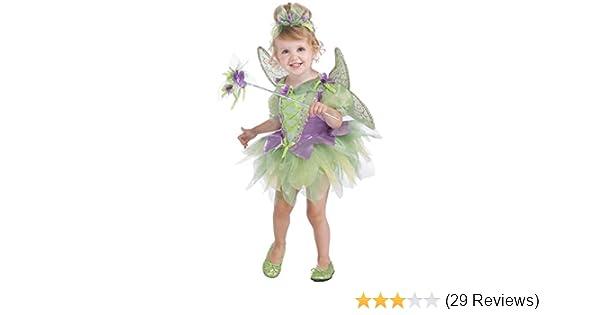 e9a21a2e1 Amazon.com: Rubie's Costume Co Deluxe Tutu Fairy Costume, Purple and Green,  Toddler: Clothing