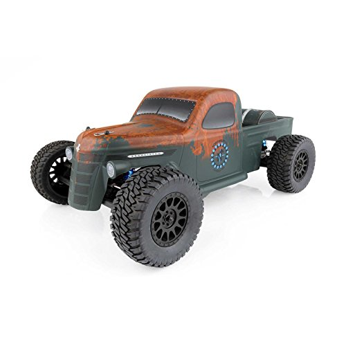 Team Associated 70019C Trophy Rat Short Course Truck, Brushless, Ready to Run, 1/10 Scale, 2WD, with LiPo Battery & Charger Combo Associated Sc 10 Short