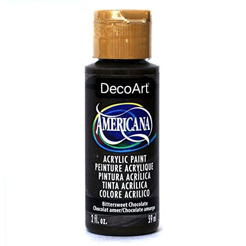 DecoArt Americana Acrylic Paint, 2-Ounce, Bittersweet Chocolate