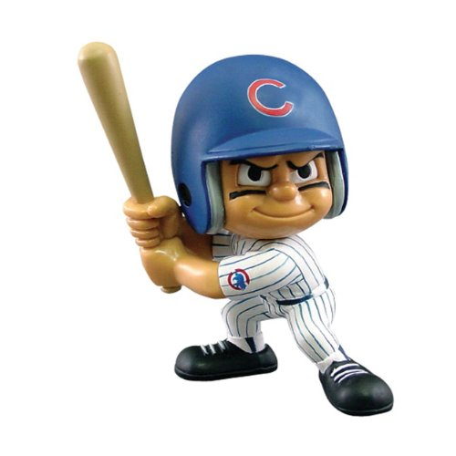 Party Animal Toys Lil' Teammates Chicago Cubs Batter MLB Figurines -