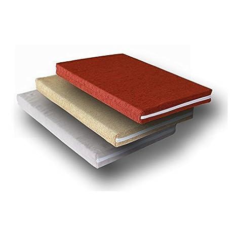 Ventadecolchones - Cama para Perro Desenfundable - Pequeña: 70 x 50 cm - Tela Polipiel Roja - 7 cm de Espuma: Amazon.es: Hogar