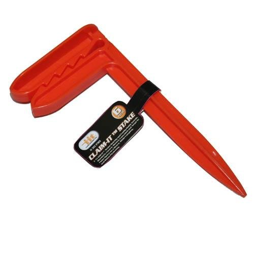 IIT 30390 1 Plastic Claim-It Stake For Beach Picnic Camping Towels Blankets Tarps