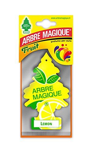 Arbre Magique – Luchtverfrisser voor in de auto – Geurboompje voor aan de spiegel – Lemon