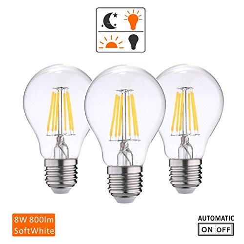 Led Light Bulb With Photocell - 7