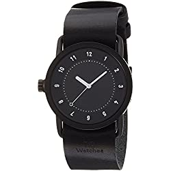 TID watch designer watch leather pull through TID01-36BK / BK men's [regular imported goods]