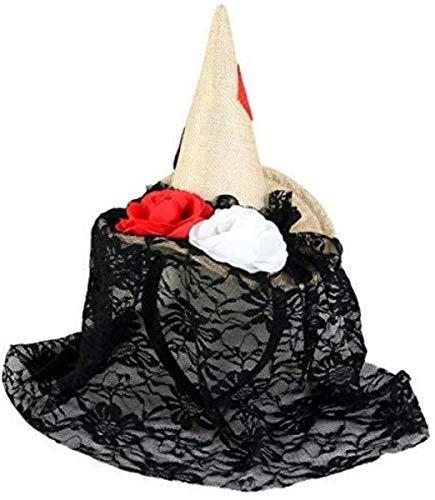 Scarecrow Hat Halloween Costume Headband Accessory (Scarecrow