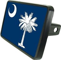 South Carolina Flag Hitch Cover 1 1/4\