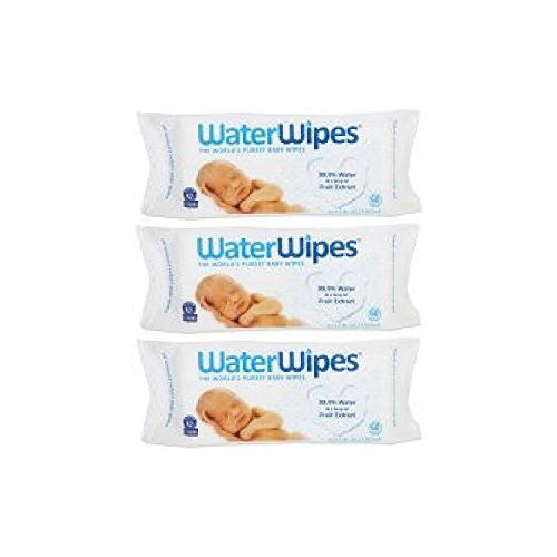 - WaterWipes Sensitive Baby Wipes, 60 Count - 3 Packs