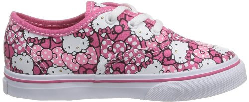 8a5402c95 Vans Infants Authentic (Hello Kitty) MrngGlry/Hp Skate Shoes 6 Infants US