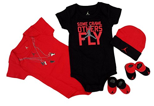 Nike Jordan New Born Baby Layette Set and Cell Phone Anti-dust Plug