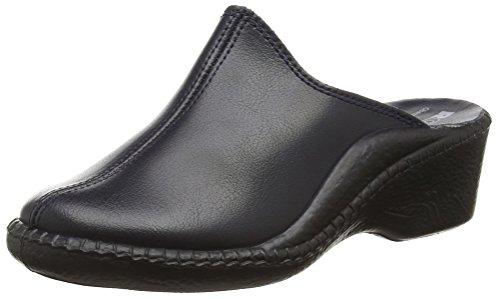 Romika Damen Mokasso 304 Pantoffeln Blau (marine 503)