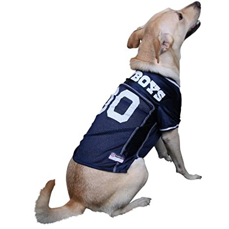 6aab3afa Image Unavailable. Image not available for. Color: Pets First Dallas  Cowboys NFL Dog Jersey ...