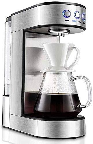 COOLSHOPY Simple Mr. Coffee Brew Cafetera 15 Taza de café de la máquina | Goteo Cafetera Decoración de Acero Inoxidable…