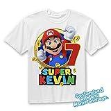 Super Mario birthday shirt, Super Mario family shirts, Super Mario theme party shirts, Super Mario matching shirts, Super Mario tshirt