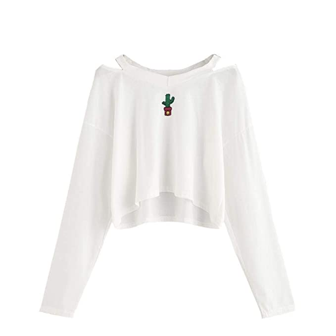 Camisa De Mujer Tops Sudadera De Mujer con Capucha De Moda Sudadera Basicas Corta Cazadora De Emoji Elegante Cazadora De Manga Larga Sexy Hollow Homb: ...