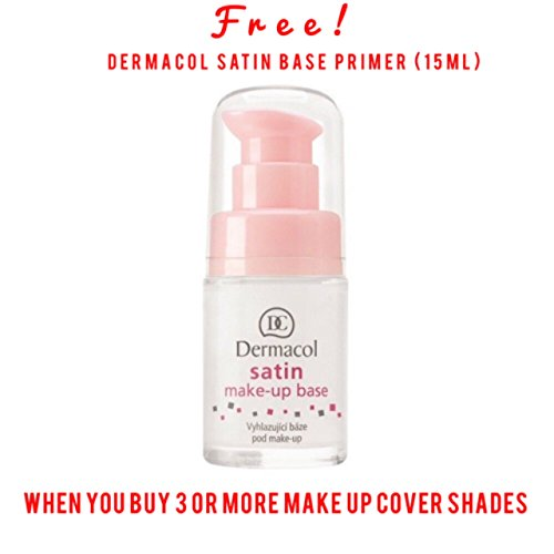 Dermacol Make-up Cover - Waterproof Hypoallergenic Foundation 30g 100% Original Guaranteed (218)
