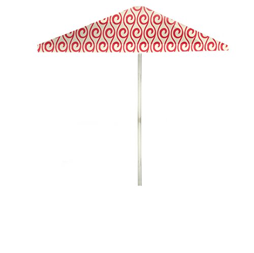 Best of Times Summer Swirl Patio Umbrella, 8', Peppermint/Cream Cream Swirl Shades